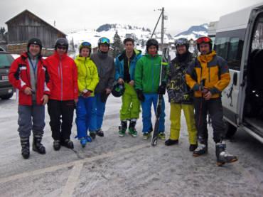 Skifahren Hoch-Ybrig