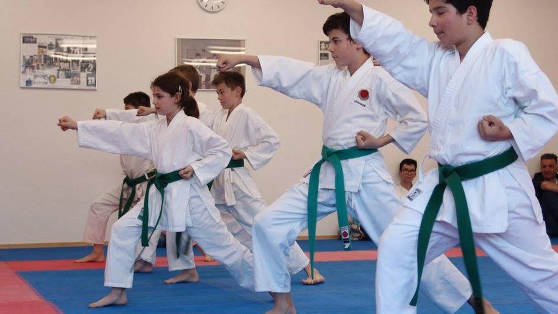Kyu-Prüfungen Kinder und Jugendliche